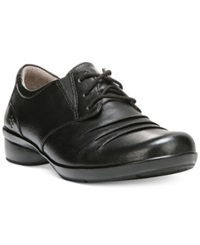 Naturalizer Carly Lace Up Oxfords Women's Shoes Black