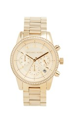 Michael Kors Ritz Watch Gold