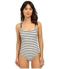 Sperry Sea's The Day One Piece Midnight Women's Swimsuits One Piece Navy
