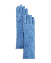 Bloomingdale's C By Cashmere Angelina Gloves Sky