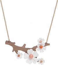 Tatty Devine Cherry Blossom Necklace White Multi