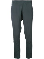 Scanlan Theodore Low Rise Boyfriend Trousers Green