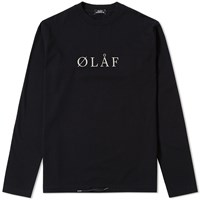 Olaf Hussein Long Sleeve Tee Black