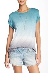 Young Fabulous And Broke Denley Burnout Tee Blue
