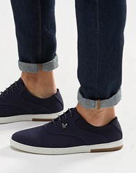 Lyle And Scott Connell Plimsolls Blue