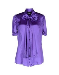 Dandg D And G Shirts Purple