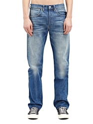 New Season Levi's Vintage Mens Straight Fit 1947 501 Shifty Light Washed Selvedge Denim Jeans