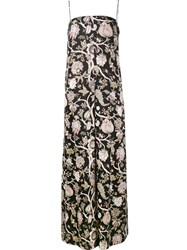 Zimmermann Floral Print Jumpsuit Black