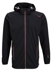 Cmp Soft Shell Jacket Anthracite Grey
