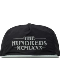 The Hundreds Black Numeral Snapback