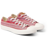 Converse Chuck Taylor Striped Canvas High Top Sneakers