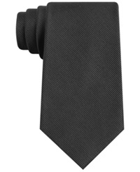Club Room New Equity Check Tie Black