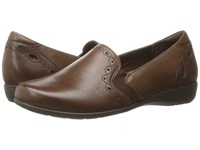Aravon Adalyn Ar Brown Women's Slip On Shoes