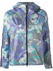 Adidas By Stella Mccartney Purple Bloom Run Jacket