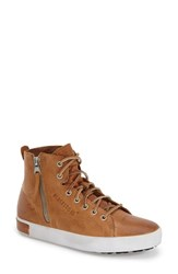 Women's Blackstone 'Kl57' High Top Sneaker Rust Leather