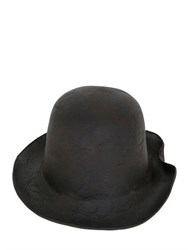 Reinhard Plank Ibro Leather Effect Hat