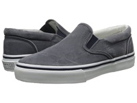 Sperry Striper Slip On Navy Canvas Men's Slip On Shoes Blue