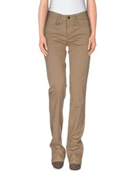 Burberry Brit Trousers Casual Trousers Women Camel