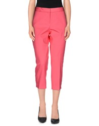 Elie Tahari Trousers 3 4 Length Trousers Women Fuchsia