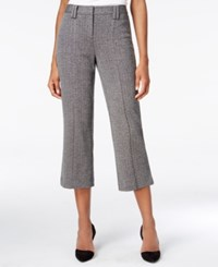 Bar Iii Kickflare Cropped Pants Only At Macy's Black Combo