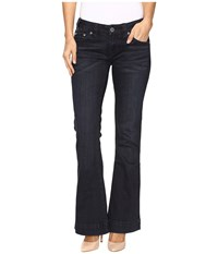 Rock And Roll Cowgirl Trouser Low Rise Jeans In Dark Wash W8 9630 Dark Wash Women's Jeans Navy
