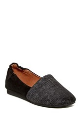 Chocolat Blu Capri Slip On Black
