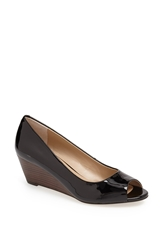 Sole Society 'Laurie' Wedge Women Black