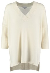Escada Sport Shadune Jumper Offwhite Off White
