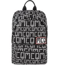 Mcq By Alexander Mcqueen Printed Classic Backpack Black