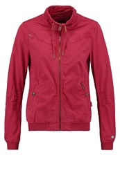 Khujo Ossa Summer Jacket Dahlia Red