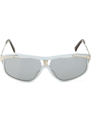 Thierry Mugler Vintage 'Star' Sunglasses Blue