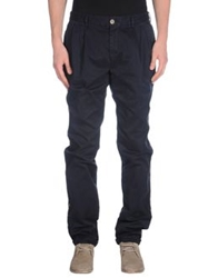 Project E Casual Pants Dark Blue