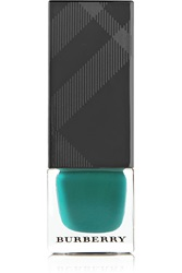 Burberry Nail Polish 418 Aqua Green