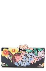 Ted Baker Women's London Lost Gardens Leather Matinee Wallet