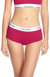 Women's Calvin Klein 'Modern Cotton' Boyshorts Tinted Rose