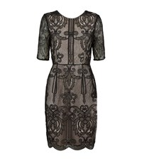 Reiss Zola Lace Dress Female Black