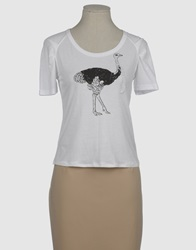Bea Yuk Mui Bea Short Sleeve T Shirts White