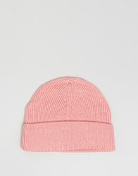 7X Beanie In Dusty Pink Pink