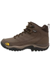 The North Face Storm Strike Wp Walking Boots Slate Grey Leopard Yellow
