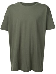 Zanerobe Logo Patch T Shirt Green