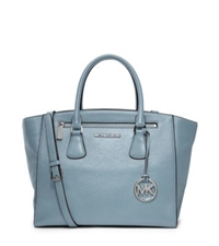 Michael Kors Sophie Large Leather Satchel Surf