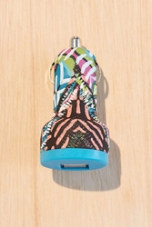 Urban Outfitters Uo Micro Usb Car Charger Black