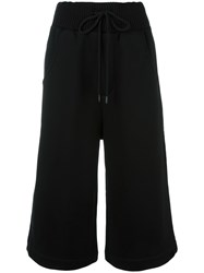 Puma Cropped Trousers Black