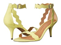 Chinese Laundry Rubie Lime Suede High Heels Green