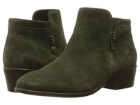 Aerosoles Mythology Dark Green Suede Women's Pull On Boots