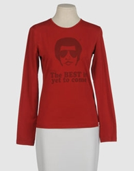 Joe Rivetto Long Sleeve T Shirts Rust