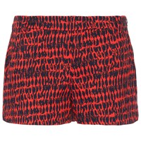 French Connection Canyon Sands Cotton Shorts Red