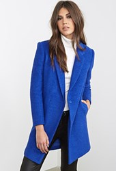 Forever 21 Classic Boucle Overcoat