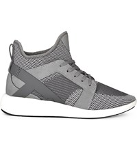 Aldo Derik High Top Trainers Dark Grey