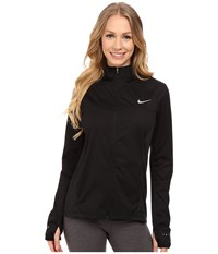 Nike Shield Full Zip 2.0 Jacket Black Reflective Silver Women's Coat